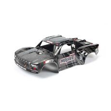 MOJAVE 1-7 EXB Painted Decaled Trimmed Body Black
