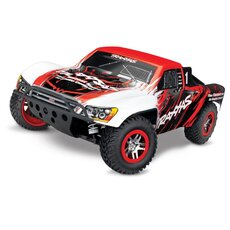 Slash 4x4 VXL rot-weiss RTR ohne Akku-Lader 1-10 4WD Short-Course-Race-Truck Brushless