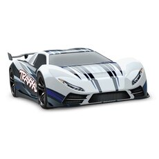 X0-1 Supercar weiss RTR ohne Akku-Lader 1-7 4WD Onroad Speed-Car Brushless